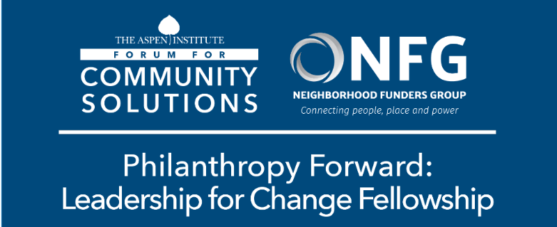 Banner for Philanthropy Forward: Leadership for Change Fellowship